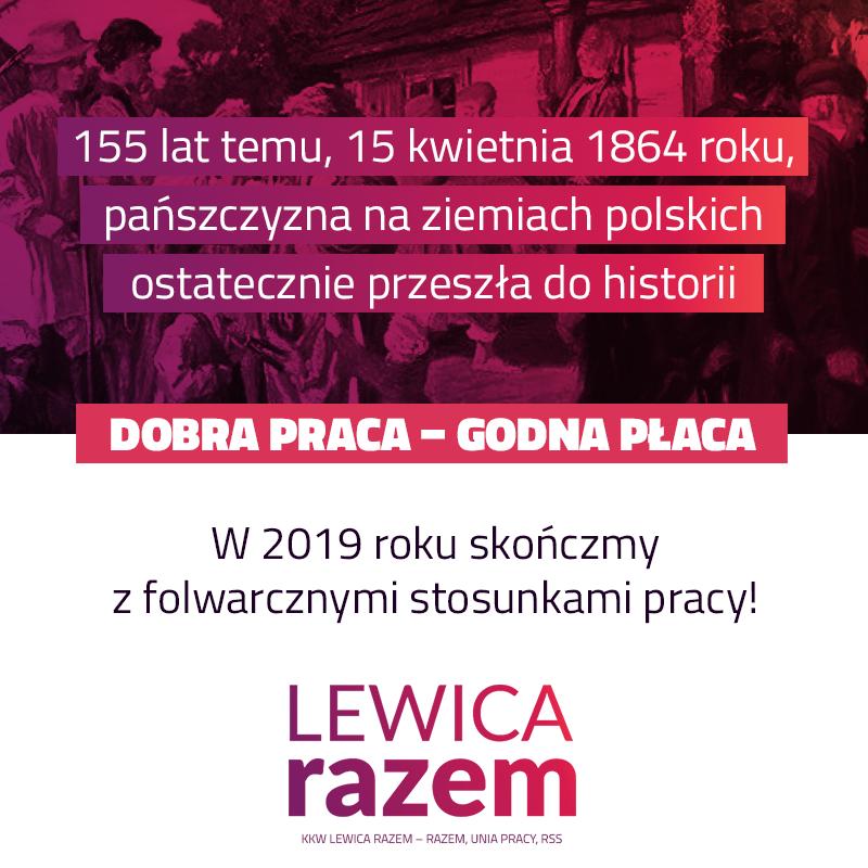 155 lat temu na terenie Królestwa Polskiego wszedł w życie ukaz carski zwalniają