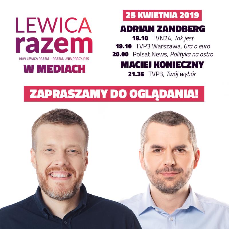 Czwartek z #LewicaRazem: