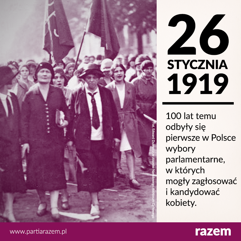 100 lat temu odbyły się pierwsze wybory, w których polskie obywatelki mogły star