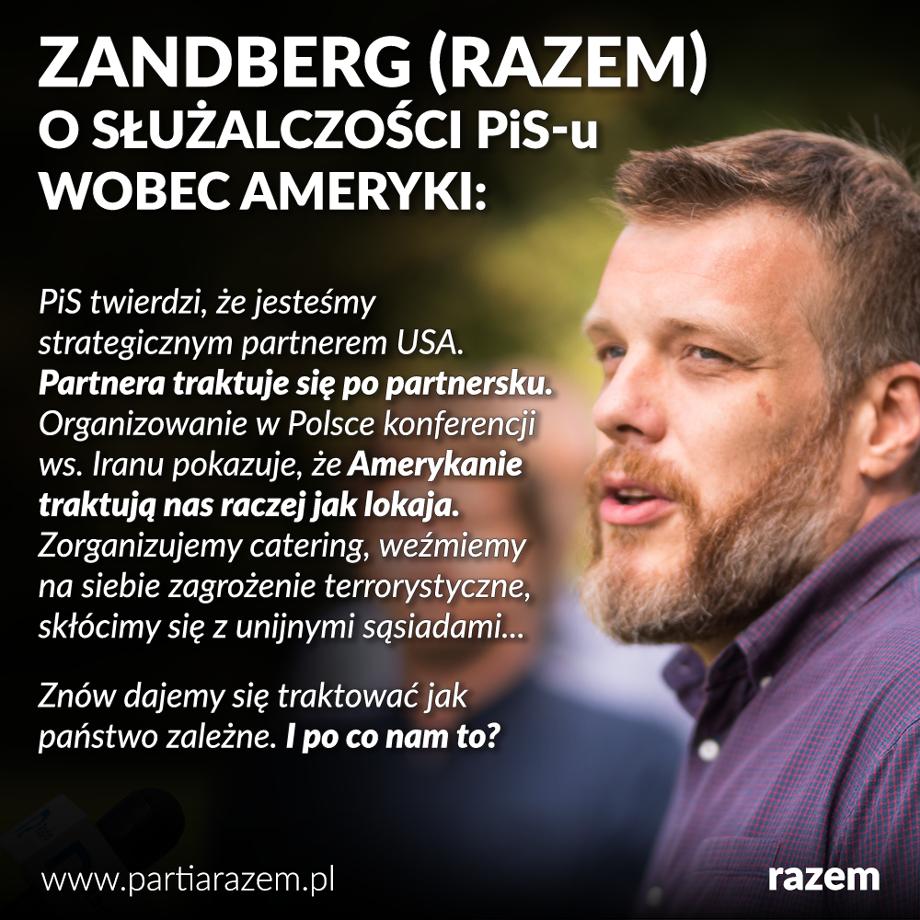 Jutro w Warszawie rozpocznie się międzynarodowa konferencja skierowana przeciwko