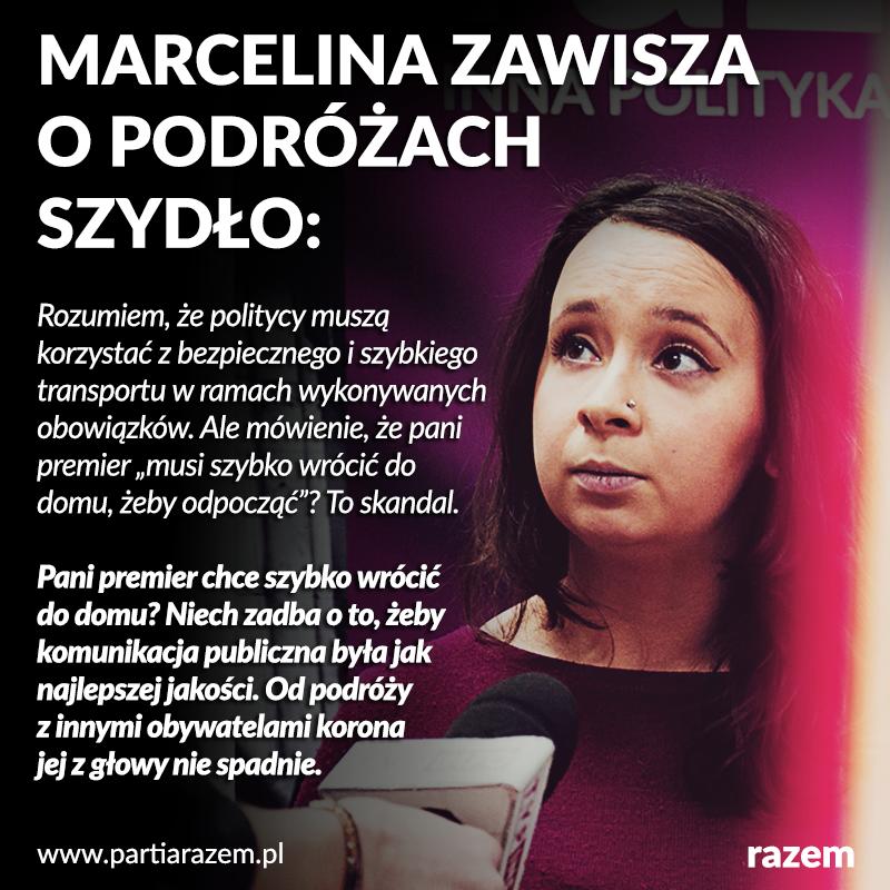 Komentatorzy i publicystki od tygodni żyją podróżami Beaty Szydło. Nasza odpowie