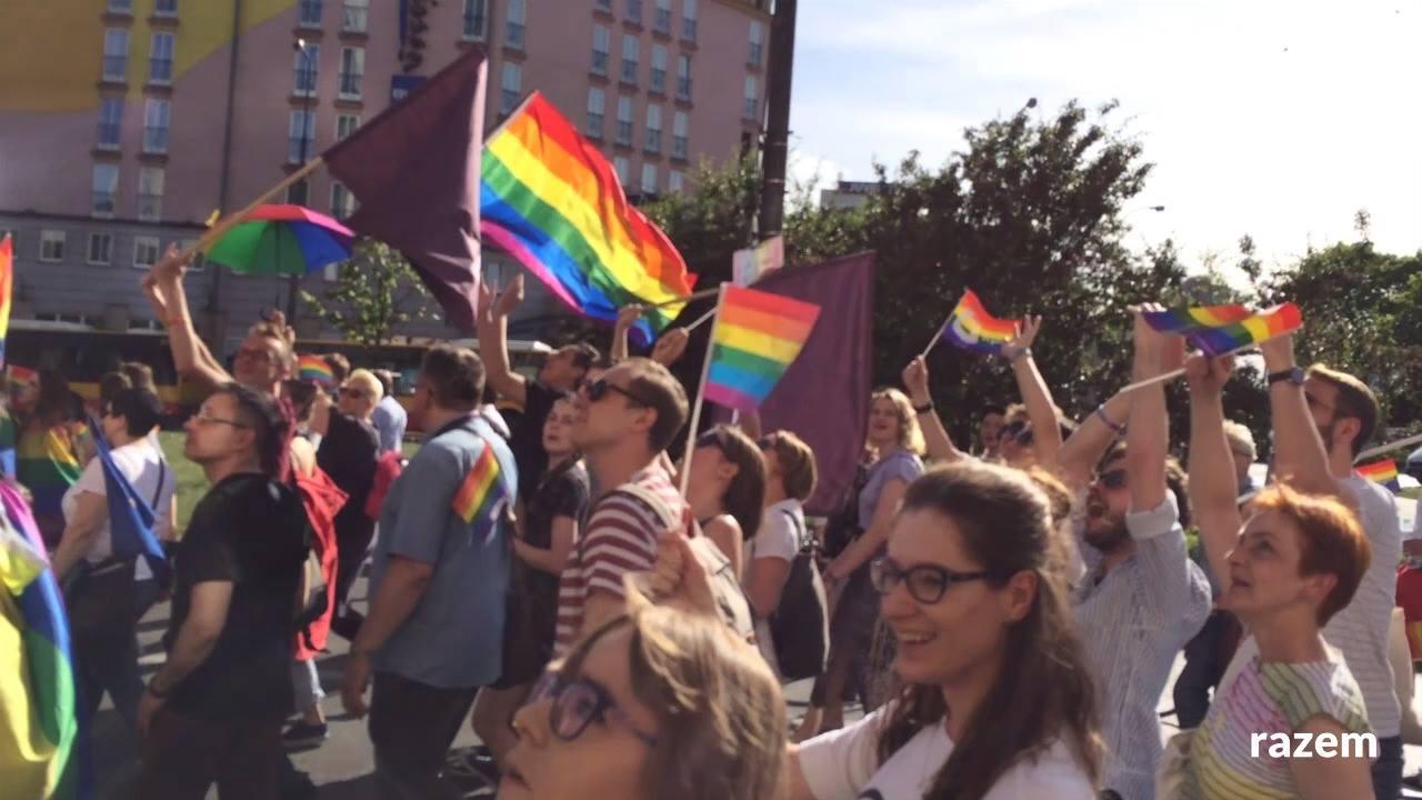 Obejrzyj Razem na Paradzie Równości 2017