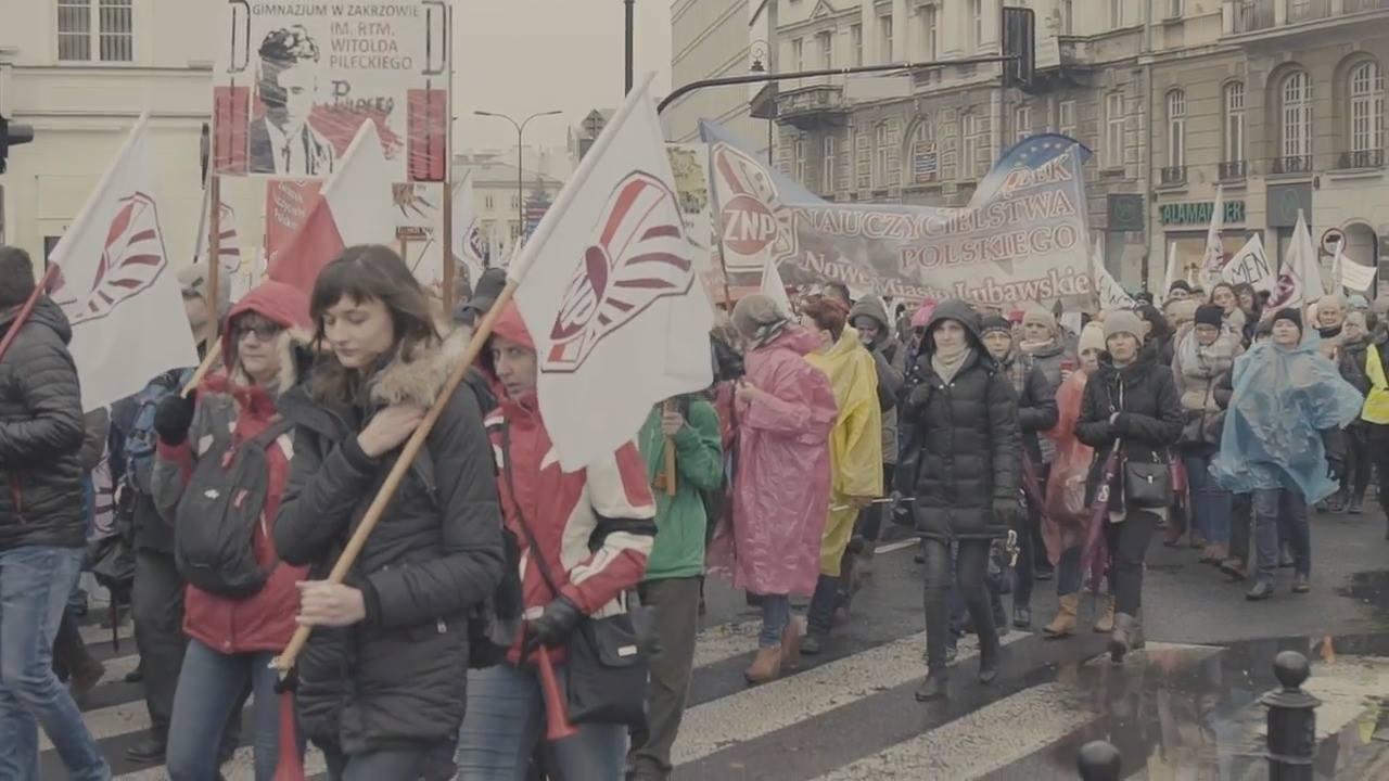 Obejrzyj ZNP: Strajk o przyszłość polskiej edukacji