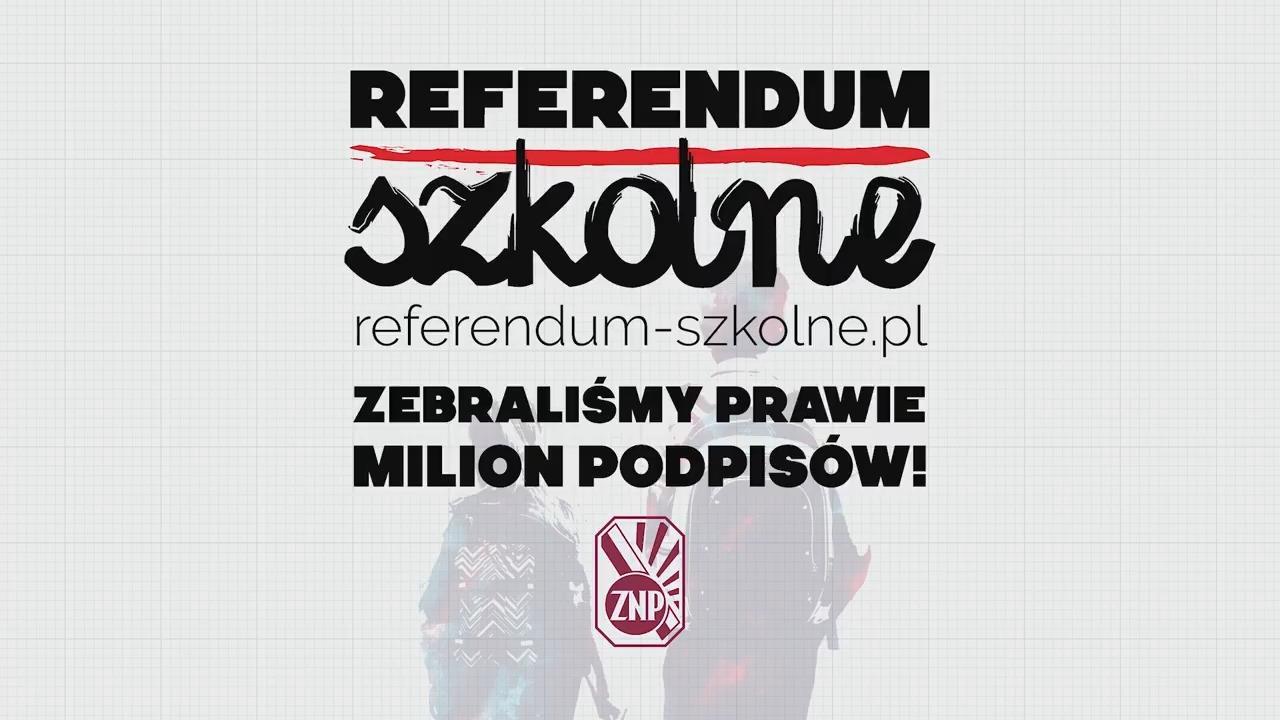 Obejrzyj ZNP i Razem: Czas na #ReferendumSzkolne!