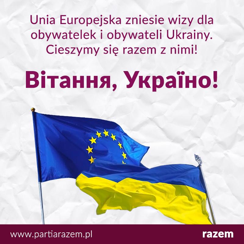 Parlament Europejski zadecydował wczoraj o zniesieniu wiz dla obywateli i obywat