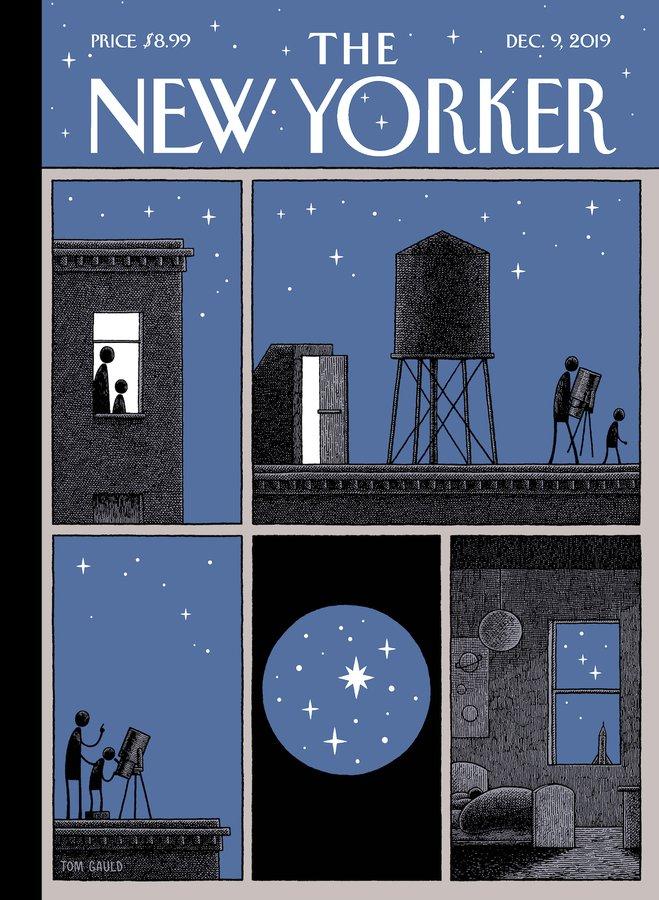 """<3  (""""Rooftop Astronomy,"""" by Tom Gauld) Zobacz tłumaczenie"""