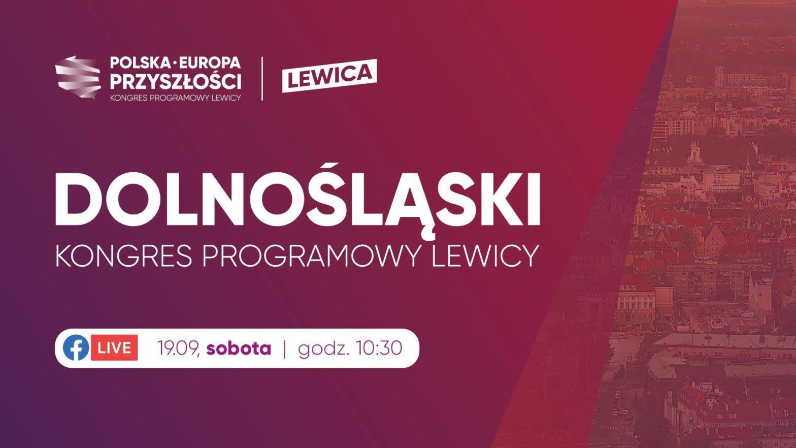 Halo, Wrocław, słyszymy się? ;) Stolica Dolnego Śląska to pierwszy przystanek na mapie regionalnych konwencji Lewicy  Ju