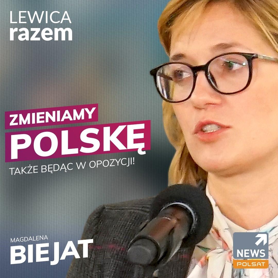 Obejrzyj Zmieniamy Polskę także z opozycji