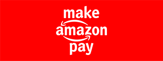 Image may contain: text that says 'make amazon pay'
