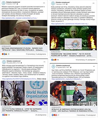 """Image may contain: 3 people, text that says 'Globalna świadomość roku.. pozwoli również papieżowi Globalna świadomość 12:19 zdrowia każdego. Watykanu będzie odwiedza porodzie Pfizer GLOBALNA.INFO WATYKAN RĘDOWNIKIEM P/FI/ZE/RA PAPIERZ CHCE """"WYKŁUCIA"""" CAŁEJ ŚWIATOWEJ POPULACJI. Globalna... komentarzy udostępnienia Globalna świadomośc grudnia GLOBALNA.INFO MILCZENIE OWIEC"""" NA JESZCZE POZWOLIMY ELITOM ?- Globalna Swiadomość portal... farmakolog olskiego komentarzy 41 udostępnień świadomość grudnia -dziedzina mechanizmach przez Wskazuje więcej niego ytaniiU Kanadzie. World Health Organization GLOBALNA.INFO OKULTYSTYCZNA FARMACJA CZYM TAK NAPRAWDĘ PRZEMYSŁ ARMACEUTYCZNY Globalna... udostępnienia GLOBALNAINFO FABRYKACH POTENCJALNEGO LEKU NA SZEF BioNTech TWIERDZI PANDEMIA POTRA... 5komentarzy 14udostępnień'"""