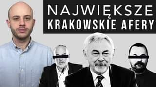 May be an image of 3 people and text that says 'NAJWIĘKSZE KRAKOWSKIE W AFERY'