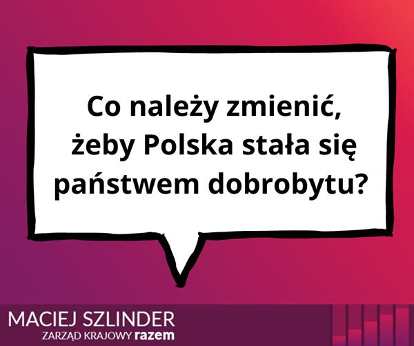 Od początku transformacji ideologia neoliberalna przenikała podstawy polskiej po
