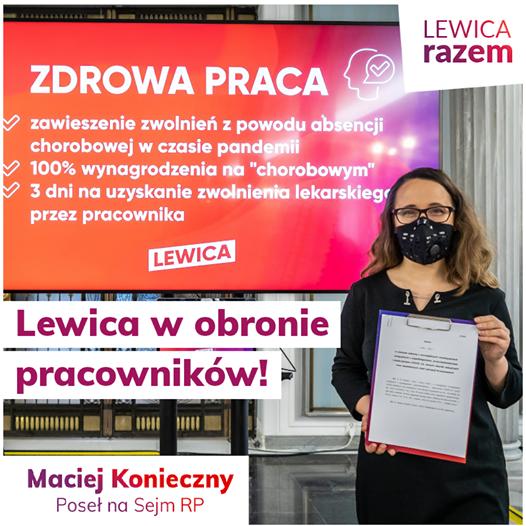 Wśród wielu patologii polskiego rynku pracy jest także przymus chodzenia chorym