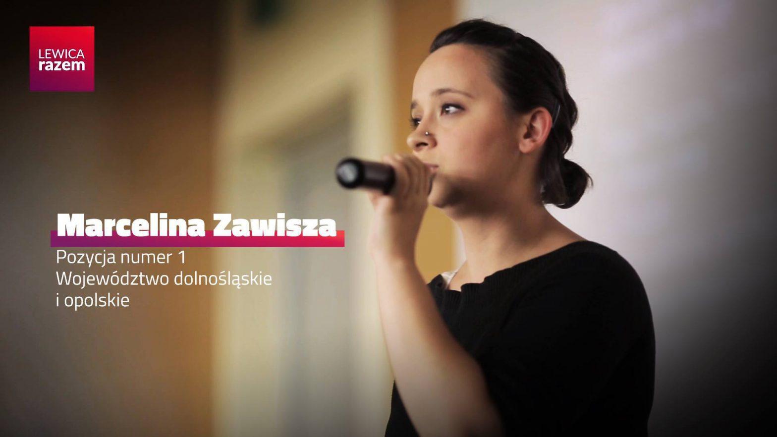 Obejrzyj Marcelina Zawisza do Parlamentu Europejskiego #LewicaRazem