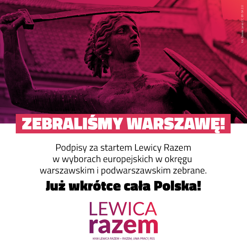 To już wiemy na pewno: w Warszawie i powiatach podwarszawskich będzie można zagł