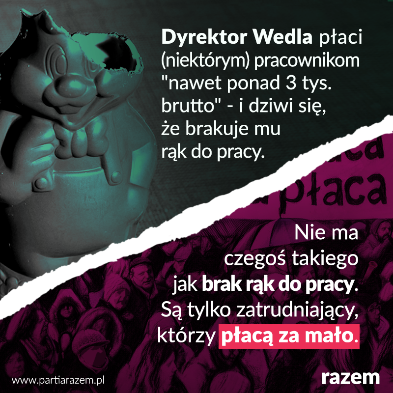 - Brakuje mi ludzi do pracy! A przecież płacę w Warszawie nawet 3000 brutto! - ż
