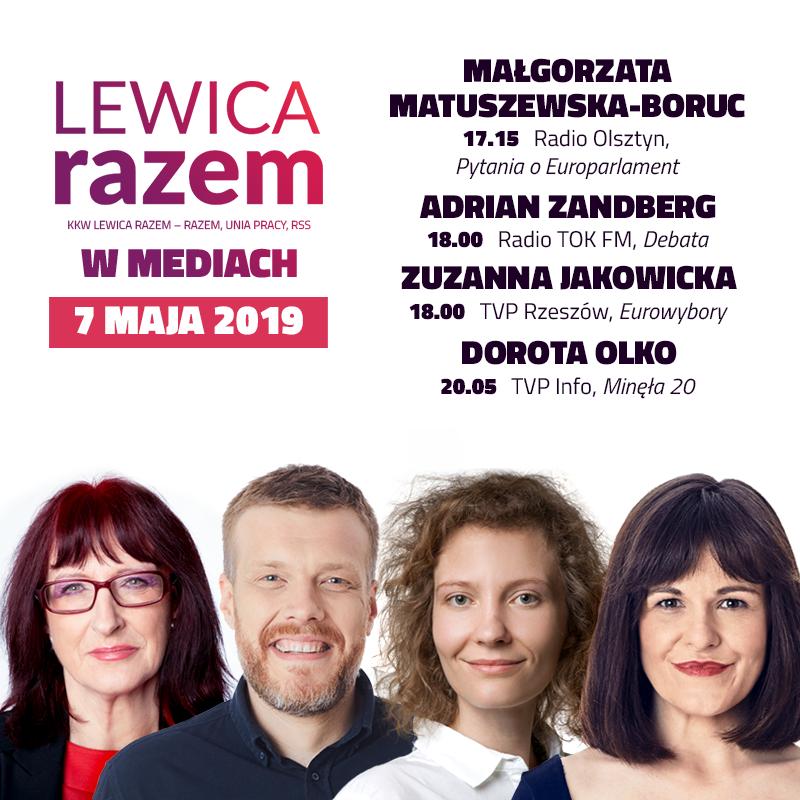 Dziś obfita oferta medialna dla osób zainteresowanych losami Europy, Polski i pomysłami lewicy.