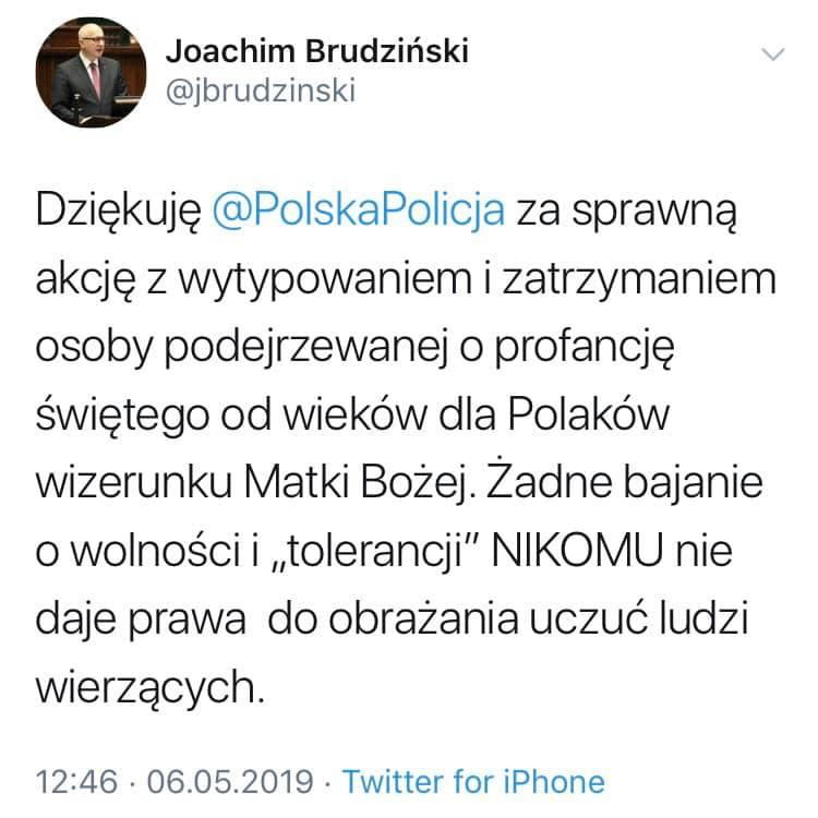Dziś rano dziennikarz Radio Szczecin wmawiał mi, że żyjemy w świeckim państwie. Wypadki dnia z udziałem innego kandydata