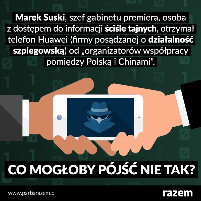 Konie trojańskie w kieszeniach polskich polityków.