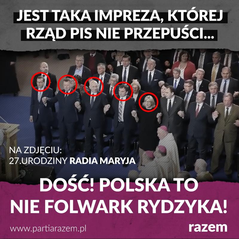 Rząd PiS, włącznie z premierem Mateuszem Morawieckim, karnie stawił się na 27. u