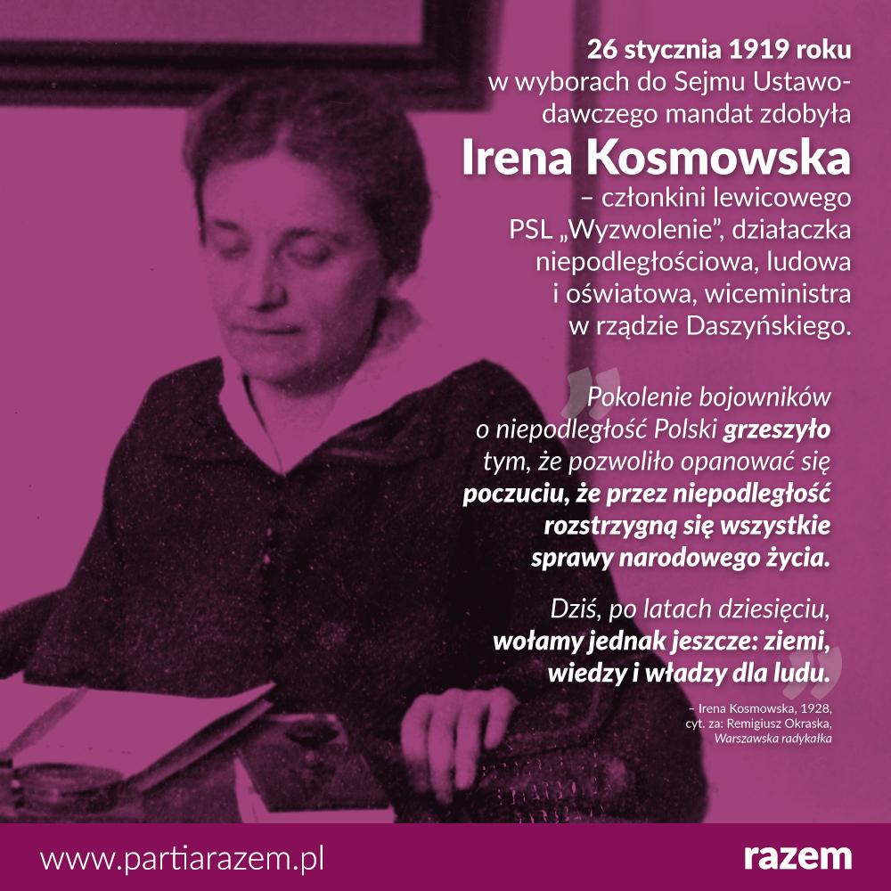 W wyborach do Sejmu Ustawodawczego, których setną rocznicę obchodziliśmy wczoraj