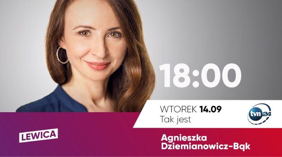 Do zobaczenia dziś (wtorek) o godz. 18.00 na antenie TVN24