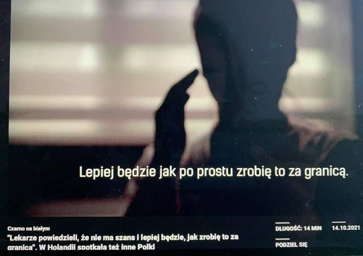 Już dziś o 20.30 w Czarno na białym TVN24 reportaż Darii Górki o osobach, które
